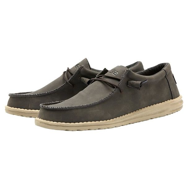 Dude Shoes Wally Recycled Leather Coffee