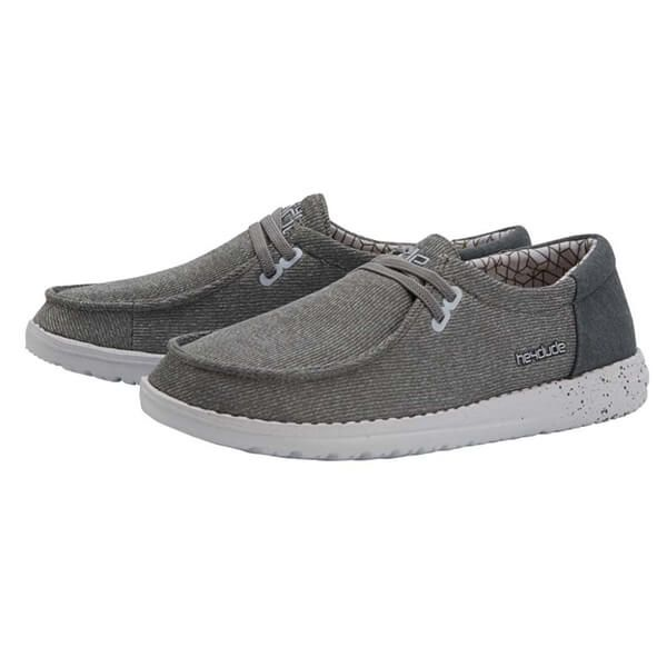 Dude Shoes Wendy Sox Micro Grey