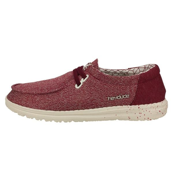 Dude Shoes Wendy Sox Micro Red