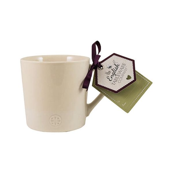 English Tableware Company Artisan Cream Two Tone Mug