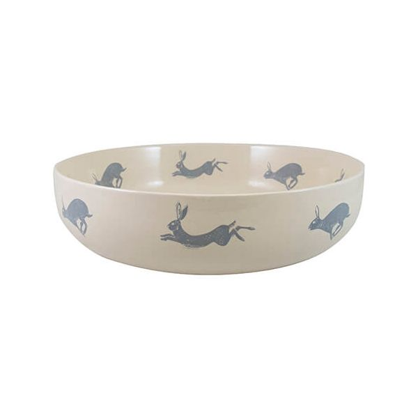 English Tableware Company Artisan Hare Serving Bowl