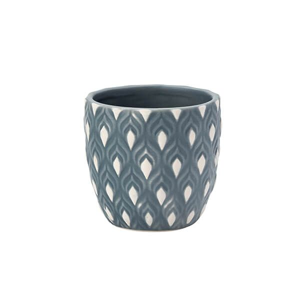 English Tableware Company Artisan Aztec Small Planter