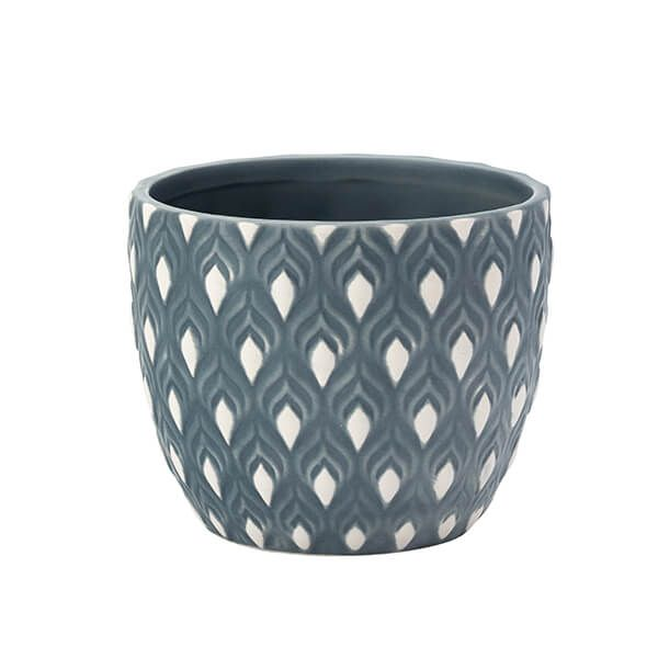 English Tableware Company Artisan Aztec Medium Planter