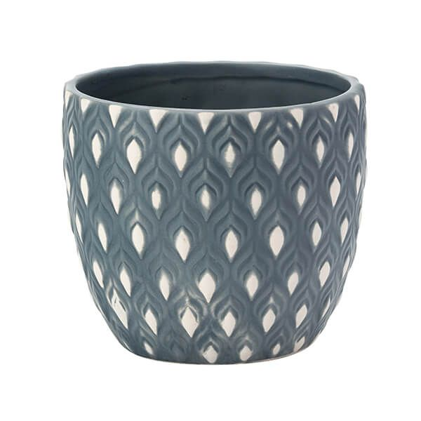 English Tableware Company Artisan Aztec Large Planter