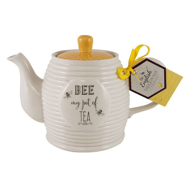 English Tableware Company Bee Happy Teapot