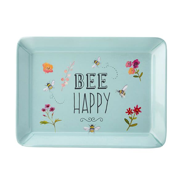 English Tableware Company Bee Happy Melamine Scatter Tray
