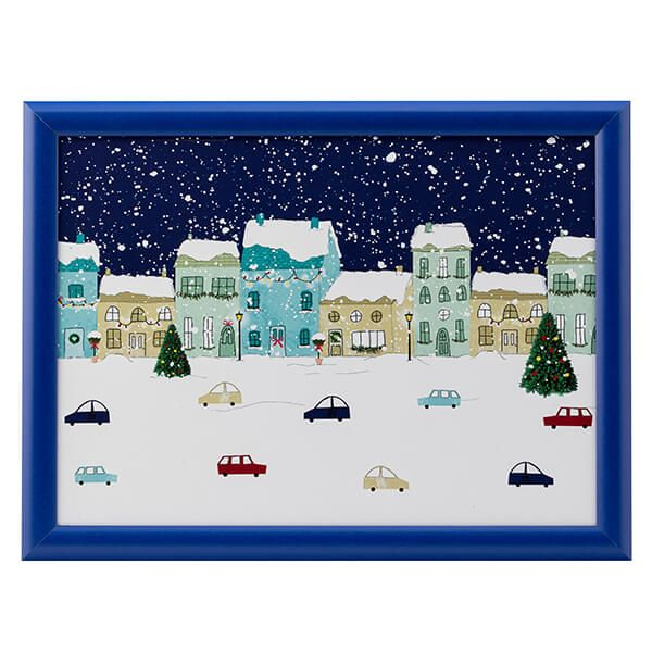 English Tableware Company Winter Scene Laptray