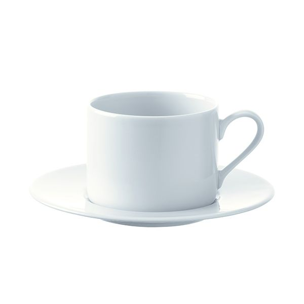 LSA Dine Tea/Coffee Cup & Saucer Straight 0.25L Set Of 4