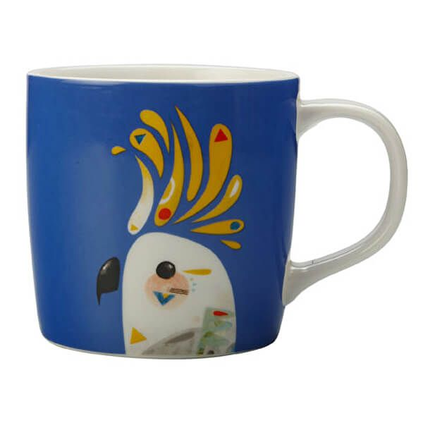 Maxwell & Williams Pete Cromer 375ml Mug Cockatoo Gift Boxed
