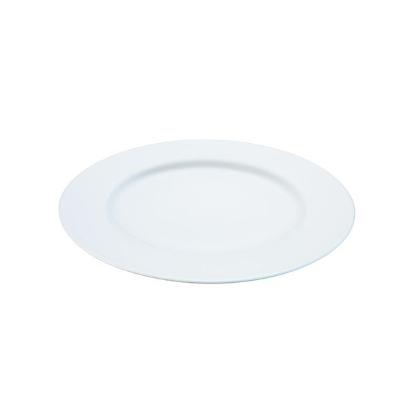 LSA Dine Dinner Plate Rimmed 27cm Set Of 4