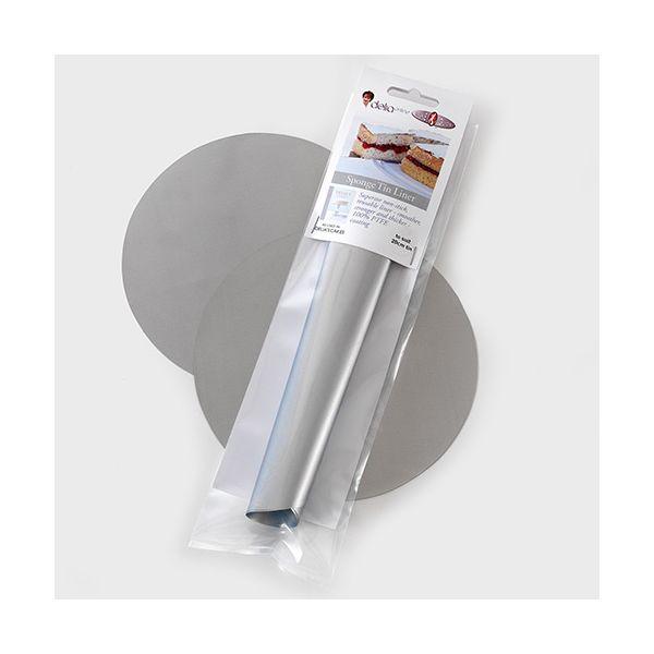 Delia Online 18cm Sponge Tin Liner (2 per pack)