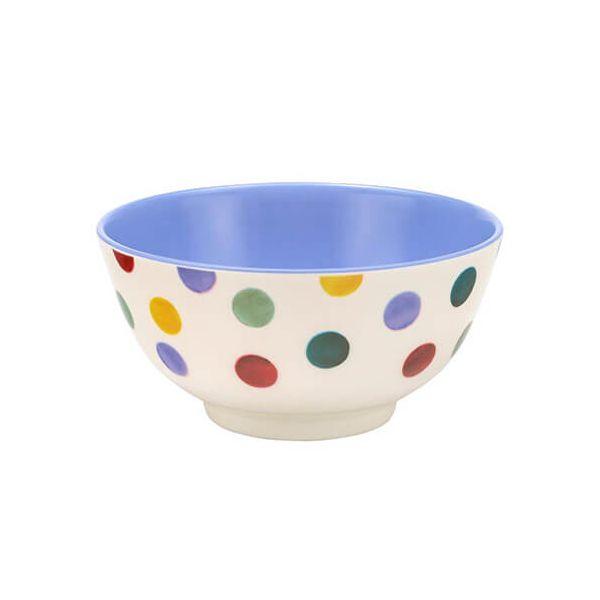 Emma Bridgewater Polka Dot Two Tone Melamine Bowl