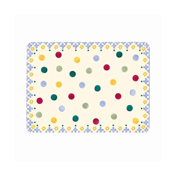 Emma Bridgewater Polka Dot Set of 4 Melamine Placemats