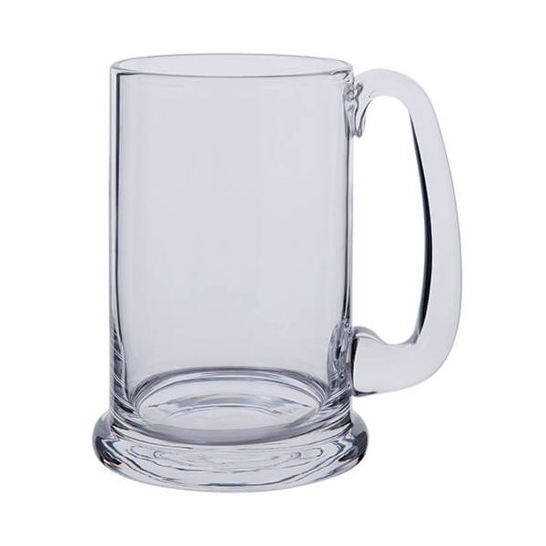 Dartington Lead Crystal Real Ale Tankard