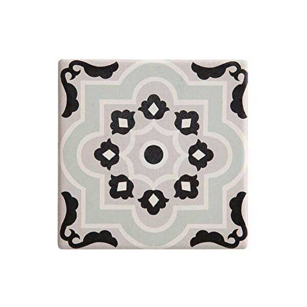 Maxwell & Williams Medina Larache 9cm Ceramic Square Tile Coaster
