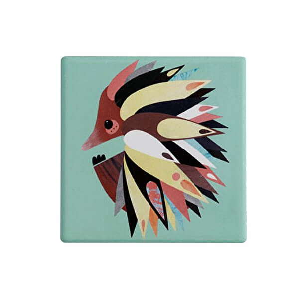 Maxwell & Williams Pete Cromer Ceramic Square 9.5cm Coaster Echinda