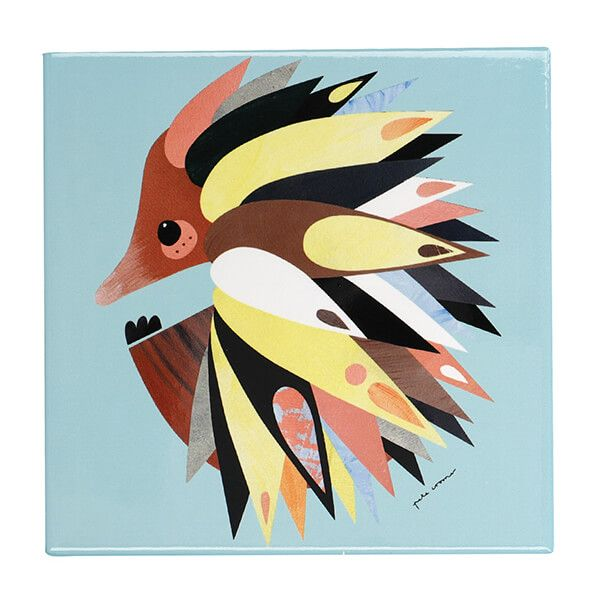 Maxwell & Williams Pete Cromer Echidna 20cm Ceramic Trivet