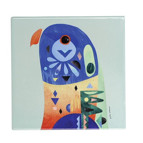Maxwell & Williams Pete Cromer Lorikeet 20cm Ceramic Trivet