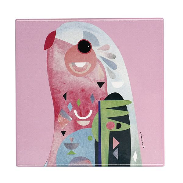 Maxwell & Williams Pete Cromer Parrot 20cm Ceramic Trivet
