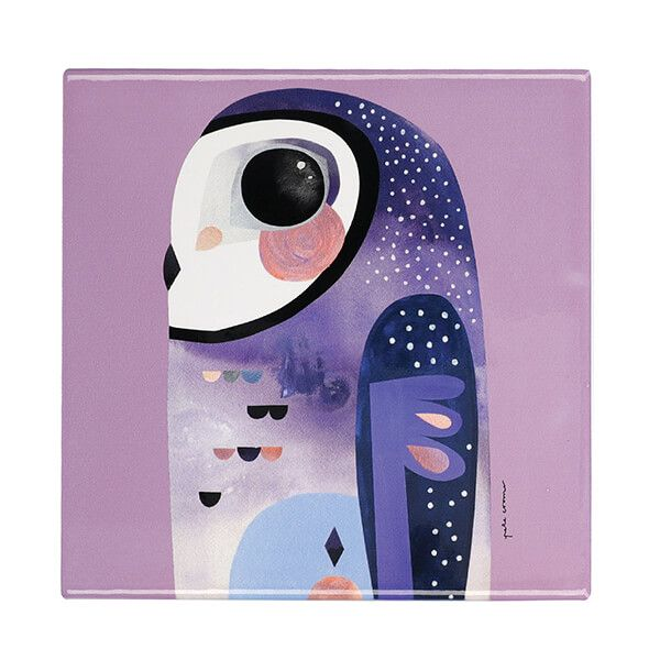 Maxwell & Williams Pete Cromer Owl 20cm Ceramic Trivet