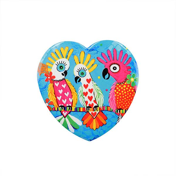 Maxwell & Williams Love Hearts Chatter 10cm Ceramic Coaster