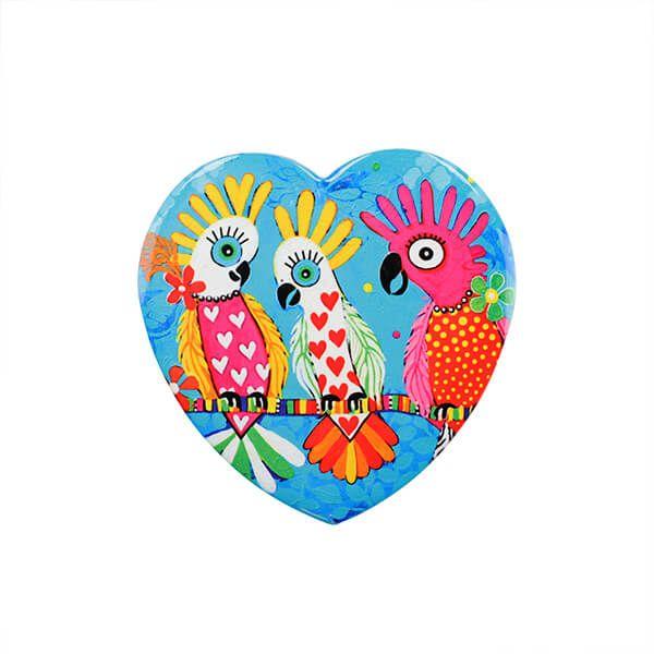 Maxwell & Williams Love Hearts Chatter 10cm Ceramic Coaster