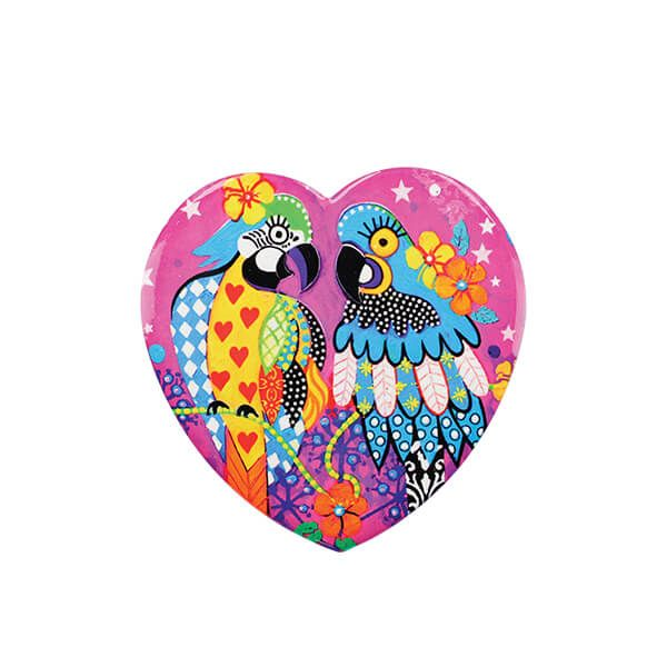 Maxwell & Williams Love Hearts Araras 10cm Ceramic Coaster