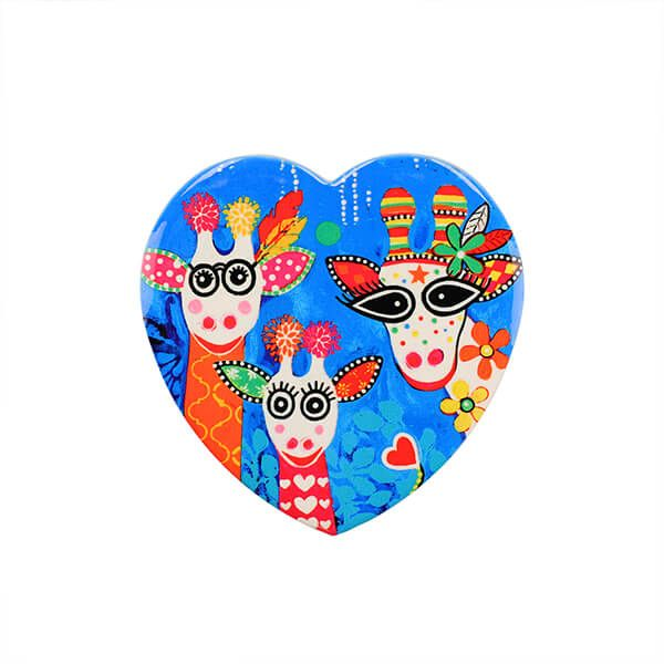 Maxwell & Williams Love Hearts Mr Gee Family 10cm Ceramic Coaster
