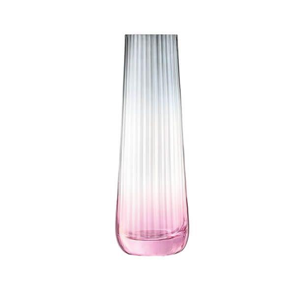 LSA Dusk Vase 20cm Pink & Grey