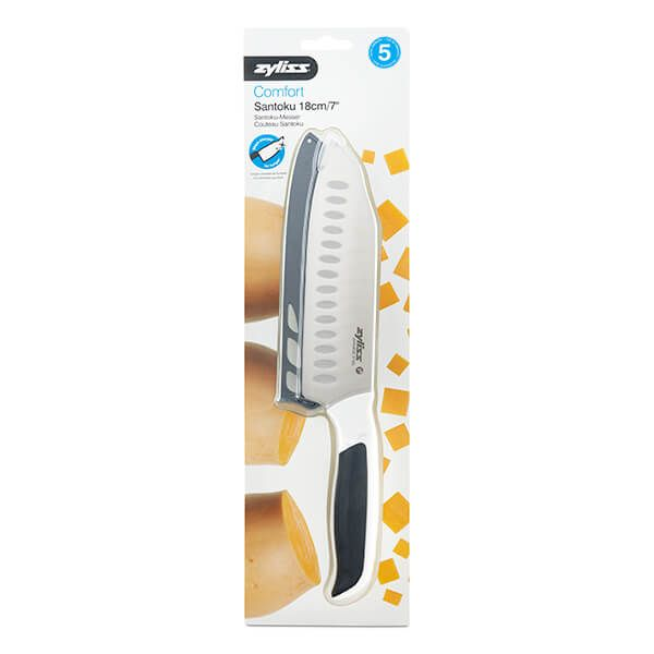 Zyliss Comfort Santoku Knife 18cm/ 7''