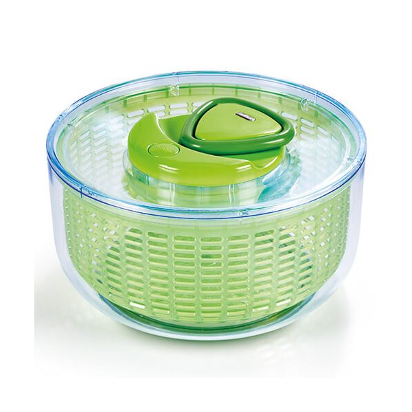 Zyliss Easy Spin Salad Spinner Large Green
