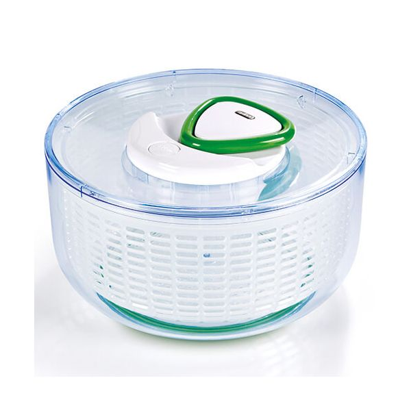 Zyliss Easy Spin Salad Spinner Large White