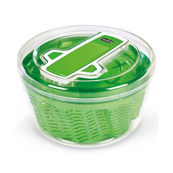 Zyliss Swift Dry Salad Spinner Large Green