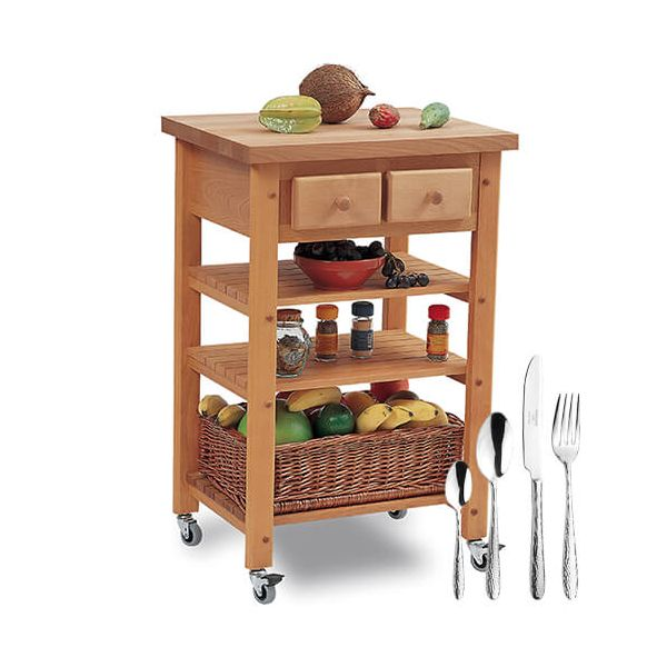 Eddingtons Highclere Kitchen Trolley with FREE Gift