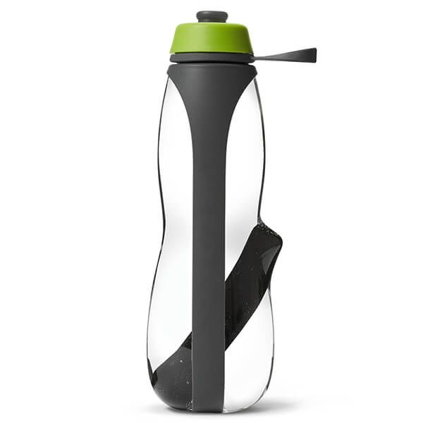 Black + Blum Eau Good Duo Grey / Lime Sports Charcoal Filtered Water Bottle