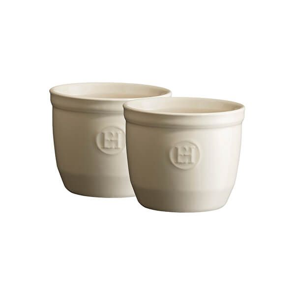 Emile Henry Clay No.8 Ramekin Set Of 2