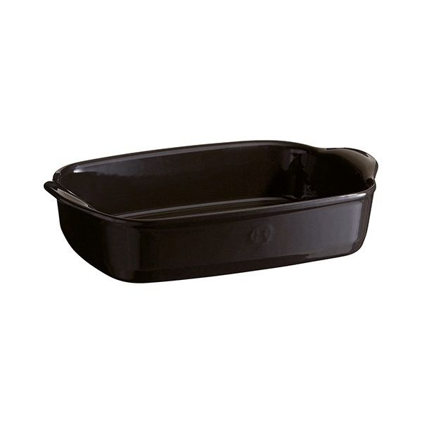 Emile Henry Charcoal Ultime Rectangular Baking Dish 30cm x 19cm