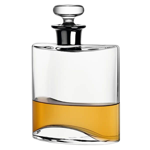 LSA Flask Decanter 800ml Clear/Platinum Neck