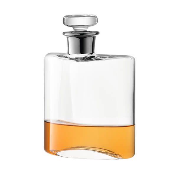 LSA Flask Decanter 350ml Clear/Platinum Neck