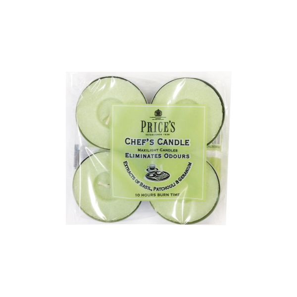 Prices Fresh Air Chefs Maxi Tealights Pack Of 4