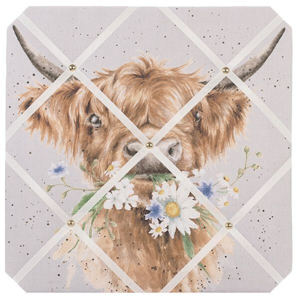 Wrendale Daisy Coo Fabric Noticeboard