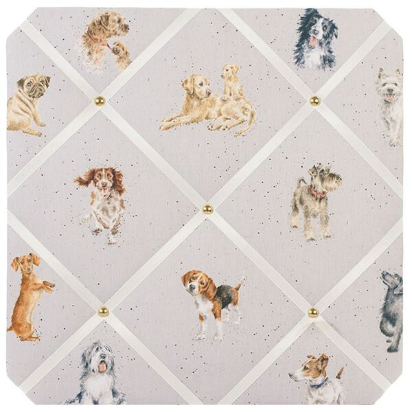 Wrendale A Dog's Life Fabric Noticeboard