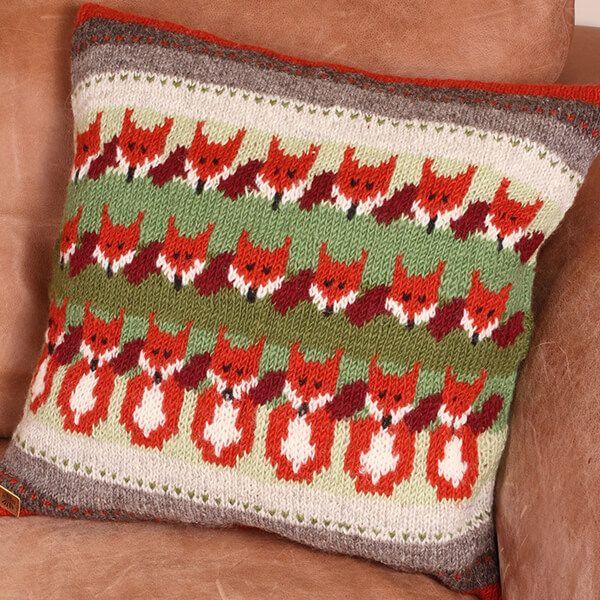 Pachamama Skulk Of Foxes Cushion