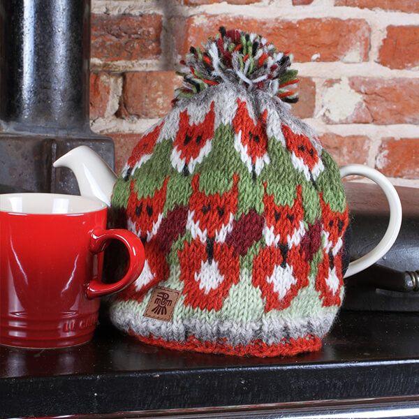Pachamama Skulk Of Foxes Tea Cosy