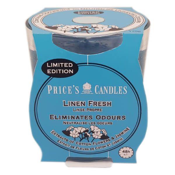Prices Fresh Air Jar Candle Linen Fresh