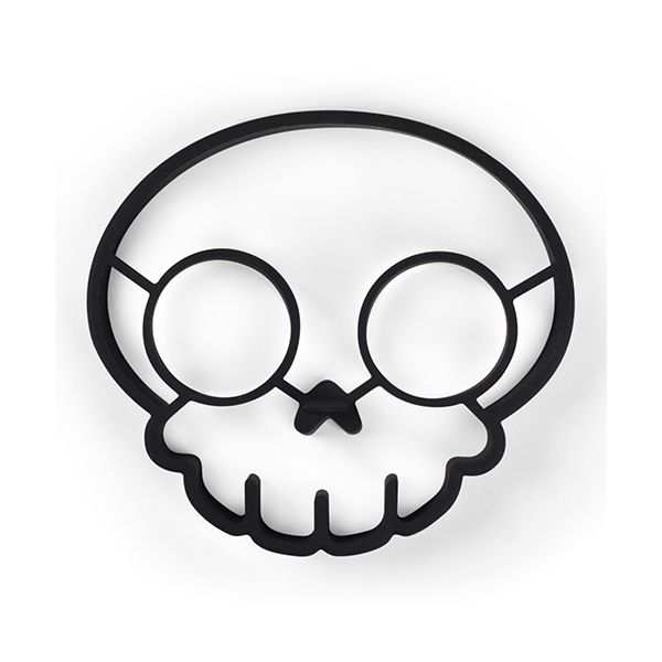 Fred Skull Funny Side Up Novelty Egg Ring