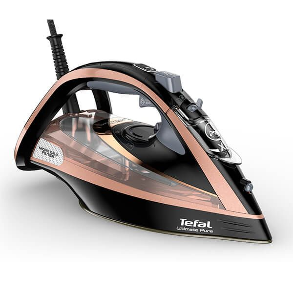 Tefal Ultimate Pure Steam Iron Black & Rose Gold