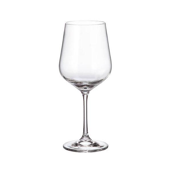 Crystalite Bohemia Strix Set Of 6 Red Wine Glasses