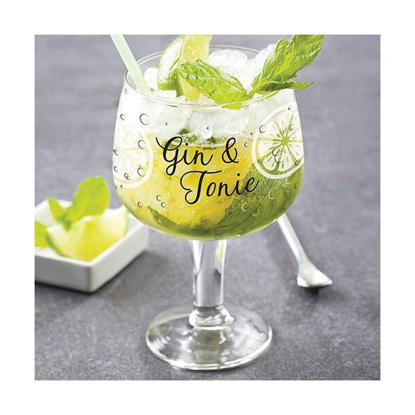 Durobor Raising Spirits Set Of 6 Gin and Tonic Glasses