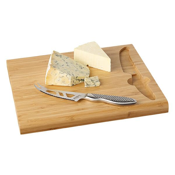 Global G-295BD Cheese Board with Cheese Knife (GS-95)